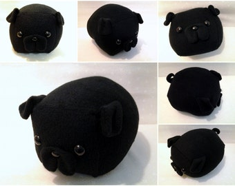 Black Pug Loaf- Medium
