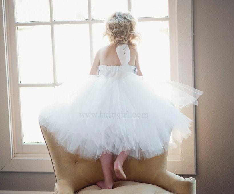 Junior Bridesmaid Tutu Dress Sizes 81012 Girls SEWN By