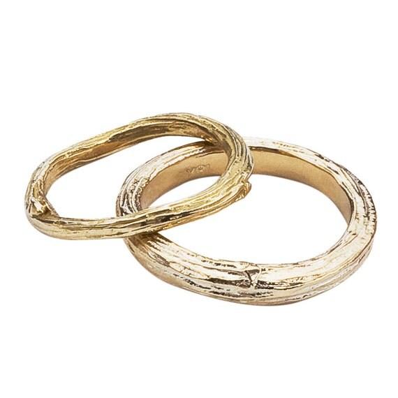 branch wedding rings - photo #26