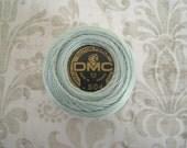 DMC 504 - Very Light Blue Green - Perle Cotton Thread Size 12