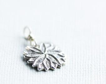 silver pendant, silver sunburst, fine silver jewellery, sunburst