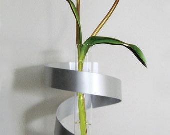 Spiral Wall Vase