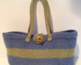 Wool Felted Handbag