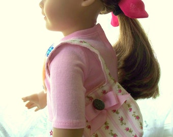 American Girl Doll or 18 inch doll, Market or School Bag