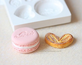 Decoden Supplies - Romantic French Sweets Decoden Mold