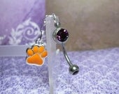 Team Spirit Belly Button Ring