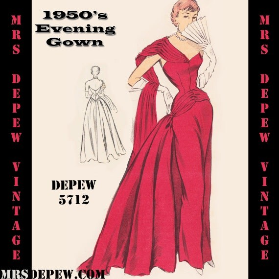 Sewing Patterns For Vintage Evening Dresses - Plus Size Tops
