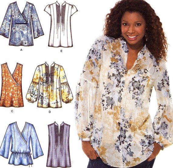 Simplicity Blouse Patterns For Womens 7