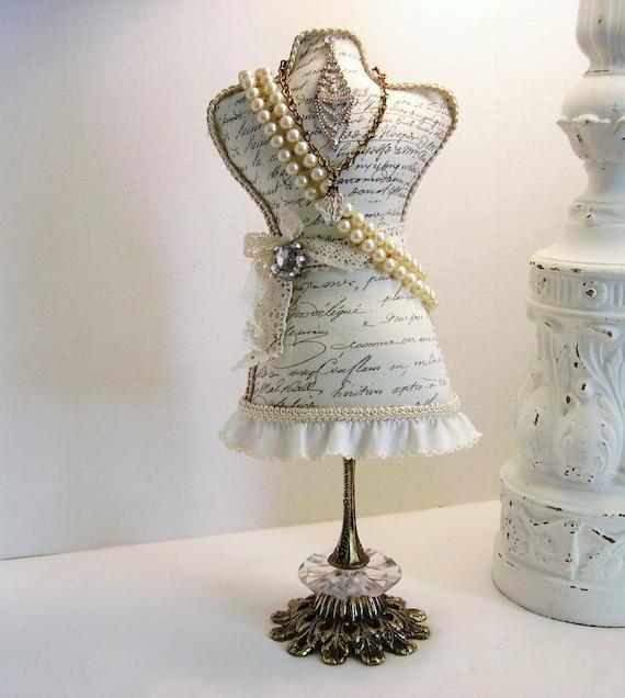 Script Fabric Dress Form