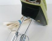 vintage Sunbeam Mixmaster electric hand mixer