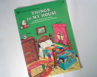 SALE -- Things in My House book