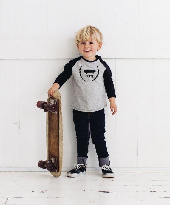 Skate Kids Raglan T-shirt