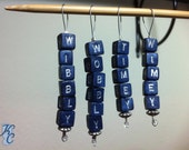 Doctor Who Wibbly Wobbly Stitch Markers