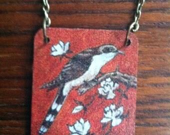 Cuckoo Bird Necklace // Handmade Necklace // Put a Bird on It!