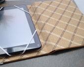 7 inch Tablet, Nook, Kindle, eReader upcycled case cover