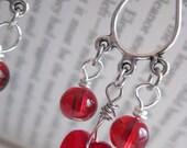 Heart of the Firedance - Earrings