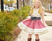 Pippa Dress  1st day of spring SALE 25% off today only  (girls size 6, 8, 10, 12)