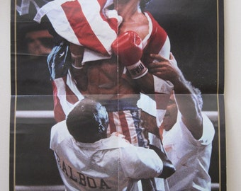 Original Rocky IV poster from 1985