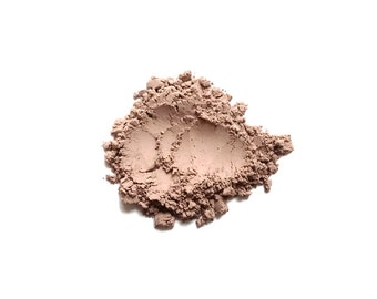 Beach - Light Neutral Matte Mineral Bronzer for Pale Skintones - Handcrafted Makeup