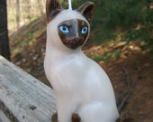George the Siamese Cat Candle - 100% CHARITABLE DONATION