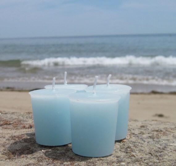 WIND SWEPT SHORES (4 votives or 4-oz soy jar candle)