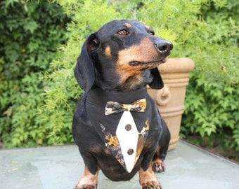 Camouflage Tuxedo Suit Collar Bandana Dach Dynasty Sz XS S M