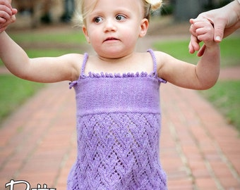 make your own Sweet As Pie top (DIGITAL KNITTING PATTERN) baby infant toddler girl