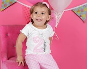Princess Number Personalized Girls Birthday Shirt...Princess Birthday Shirt...1st Birthday...2nd Birthday