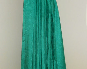 Egyptian Fusion Bellydance Sea Green Professional 7 Yard Circle Skirt- 034