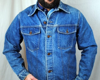 Vintage 60s Sears Roebucks Denim Jacket Coat