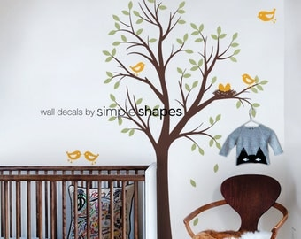 Staircase family Tree Wall Decal Tree Wall Decal Sticker