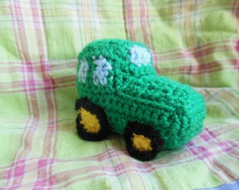 Mini Tractor Crochet PATTERN