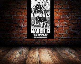 Runaways/Ramones 1978 Akron Concert Poster