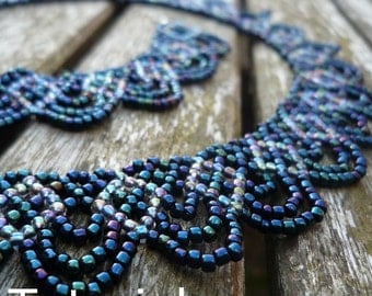 Swags Necklace Beadwork Pattern/Tutorial - Instant Download