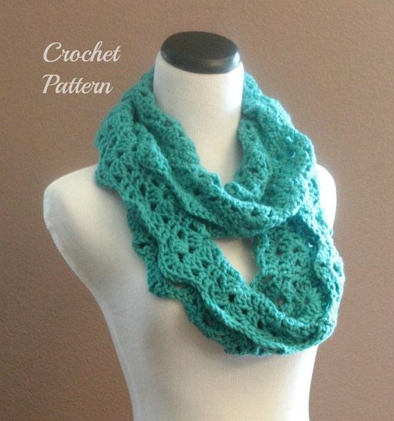 Crochet PATTERN PDF Chunky Crochet Infinity Scarf Pattern, Infinity ...