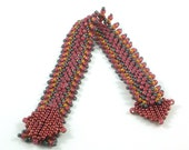 St Petersburg chain beadweaving instructions tutorial: Instant Downloadable Pattern PDF File