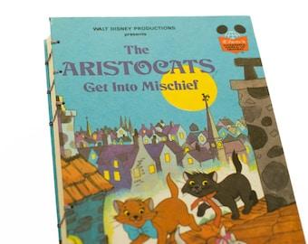 Walt Disney's Aristocats VINTAGE NOTEBOOK JOURNAL Sketchbook