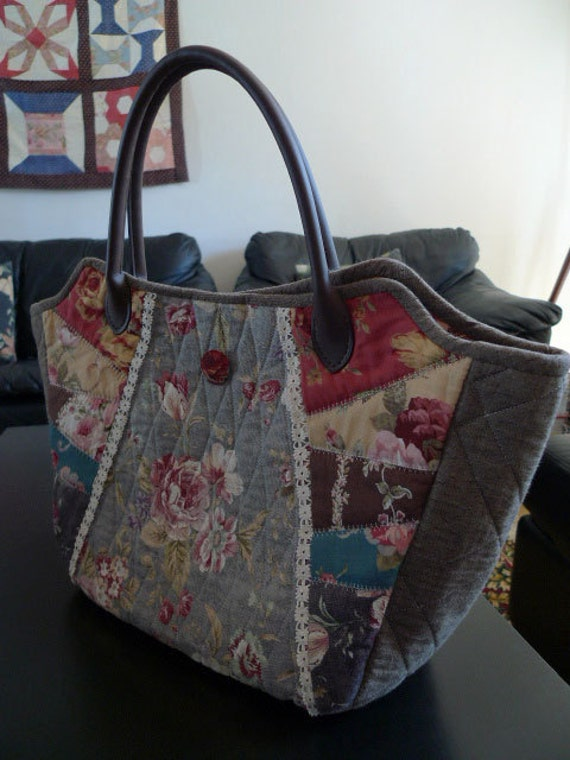 handmade quilted handbags - photo #49