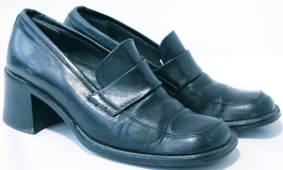 1990's Vintage Label Missing Shoes: 90s -Label Missing ... |1990s Womens Boots