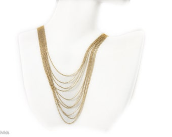 Chorale Necklace, Gold, AC0821 by Ashley Childs