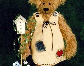 Teddy Bear PDF Sewing Pattern - Katie