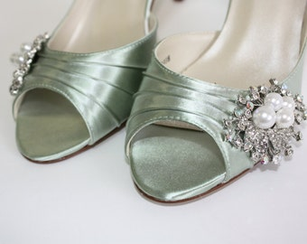 Popular Items For Green Wedding Shoes On Etsy