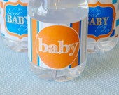 Sip & See Baby Shower PRINTABLE Party Drink Labels (INSTANT DOWNLOAD) by Love The Day