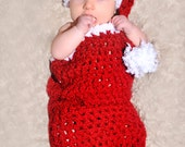 Items similar to CROCHET PATTERN - Santa Baby Cocoon and ...
