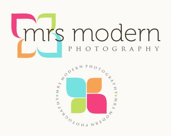 Premade Modern Logo and Watermark for Photographers