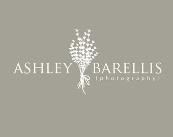 Premade Lavender Logo and Accent Watermark
