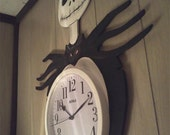 Nightmare before Christmas Jack Skellington  Wall Clock