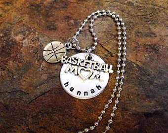 FLASH SALE TODAY Basketball Jewelry, Basketball Mom, Personalized Jewelry, Basketball Mom Necklace, Sports Jewelry, March Madness, Final Fou