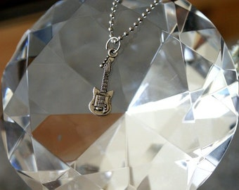 Guitar necklace - FREE chain!