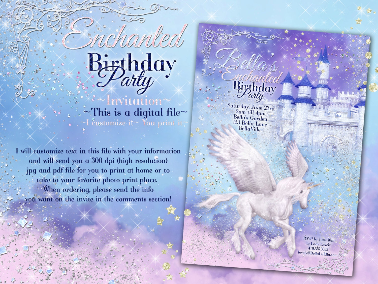 Rainbow Party Invite as great invitations layout